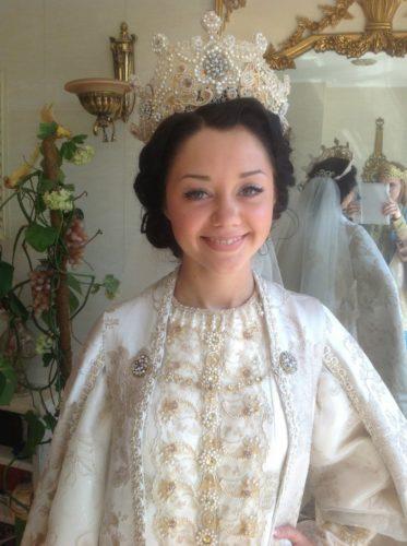 свадебный русский наряд