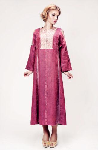 русское платье