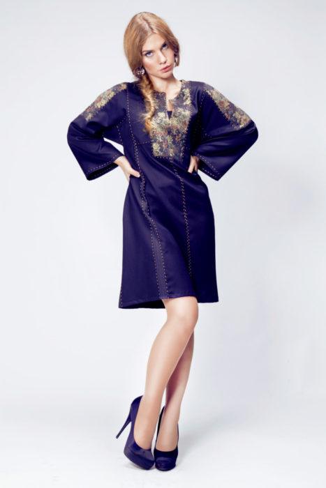 русская рубаха-платье
