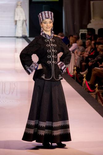 современный костюм в русском стиле