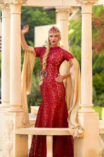 русский традиционный костюм XXI века