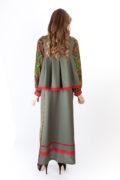 платье в русском стиле и двусторонняя коротена