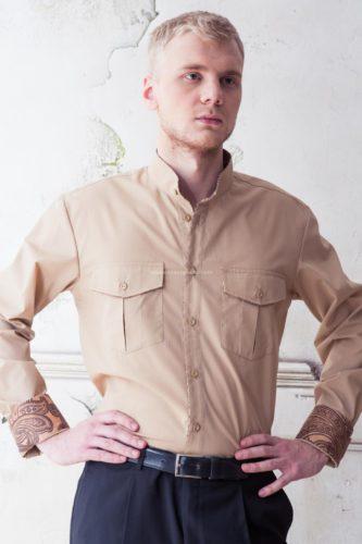 рубашка в русском стиле