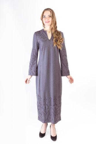 Платье классическое в традиционном русском стиле от Дома русской оделды Валентины Аверьяновой