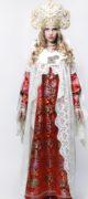 Свадебное платье в русском стиле