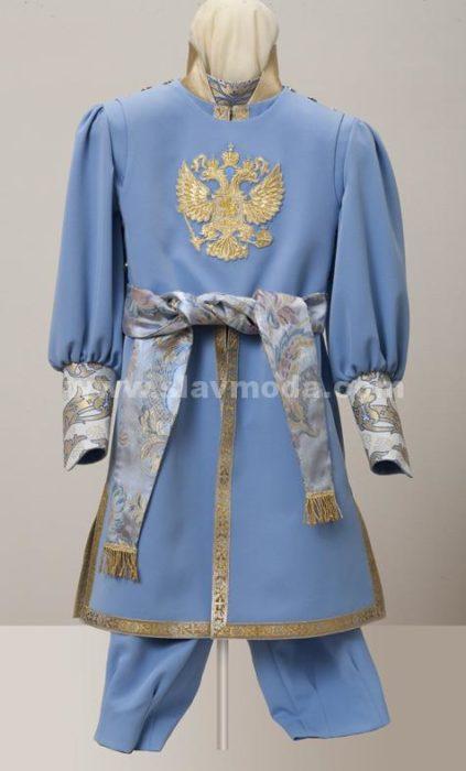 Детский боярский костюм для мальчика Дом русской одежды