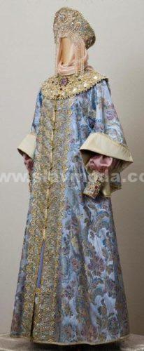 женский боярский костюм дом русской одежды валентины аверьяновой