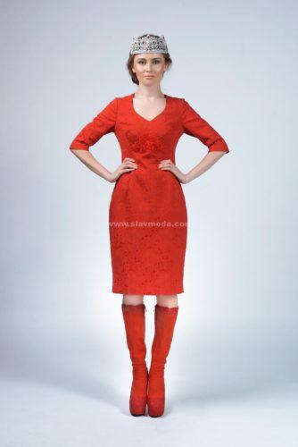 Женское платье в русском стиле