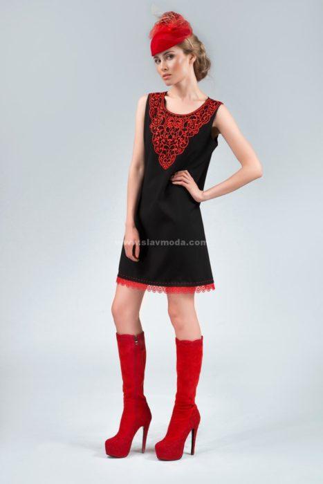 нижнее платье в русском стиле