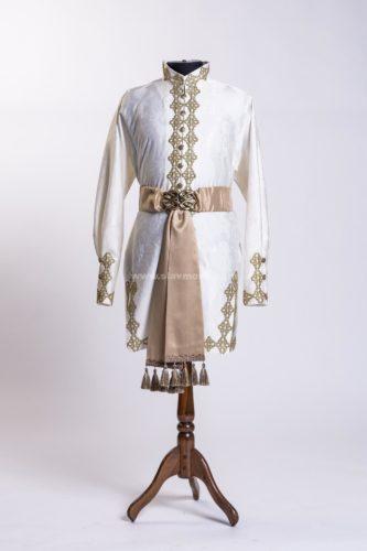 русский костюм мужской боярский рубашка-кафтанчик