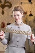 Жакет в русском стиле