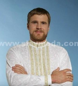 рубаха свадебная в русском стиле мужская