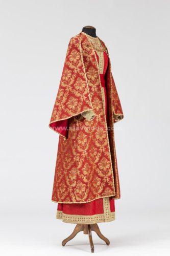 Женский боярский наряд