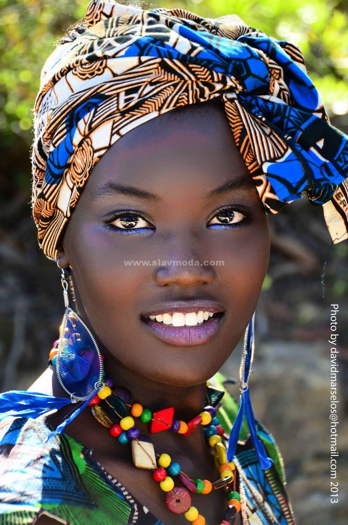 Фото африканской красавицы. История и особенности этно-стиля.