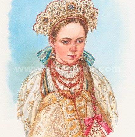 Олонецкая невеста. Марина Федорова