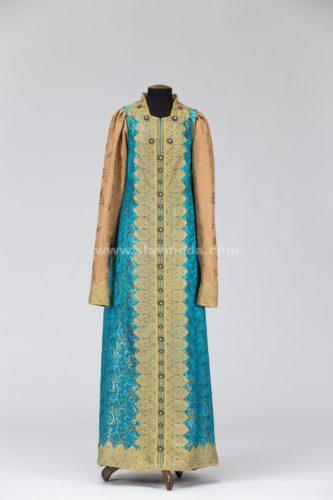 Женское боярское платье