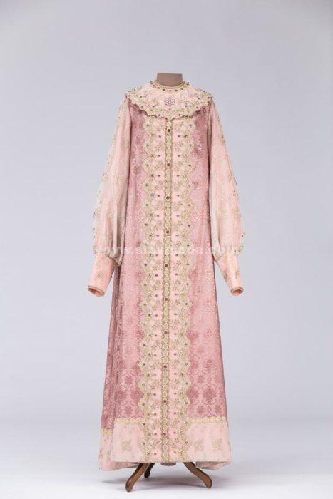 Боярское женское платье