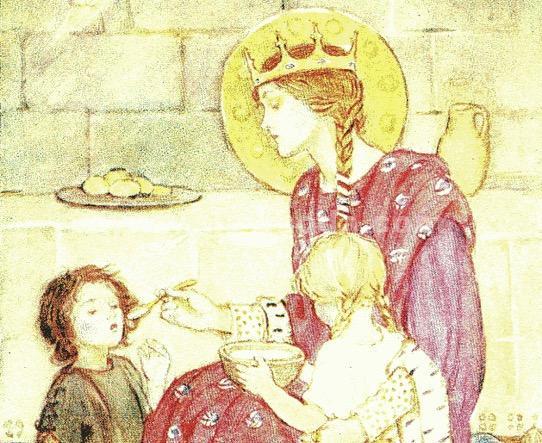 16 ноября День памяти Первой Святой Шотландии Королевы Маргариты