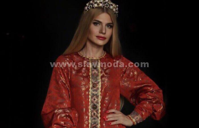 Русское платье для современной жизни