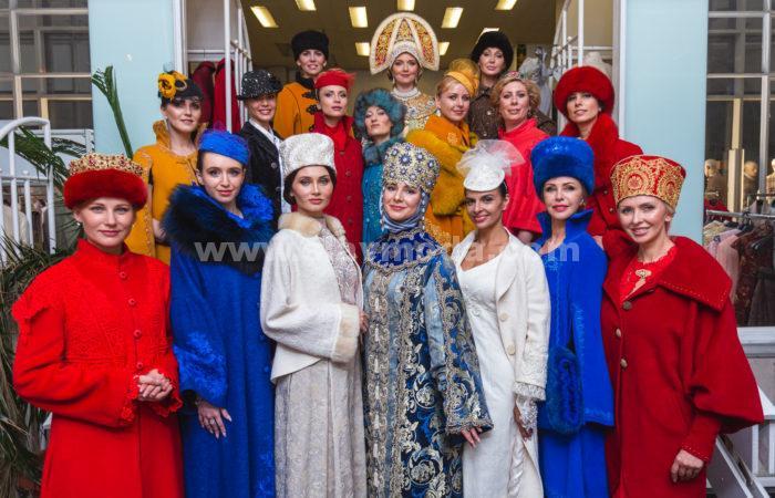 Дом русской одежды представил коллекцию «Русь Державная, Православная»