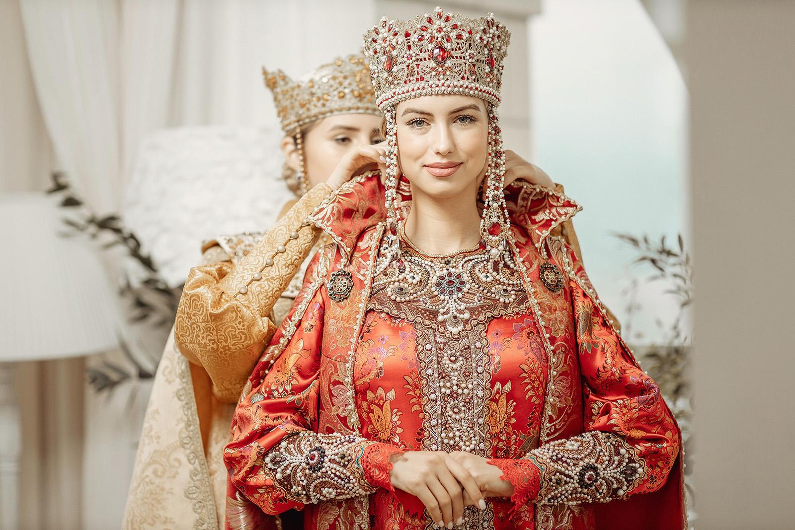 Женский боярский наряд 21 века